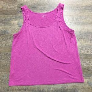 Loft pink shirt
